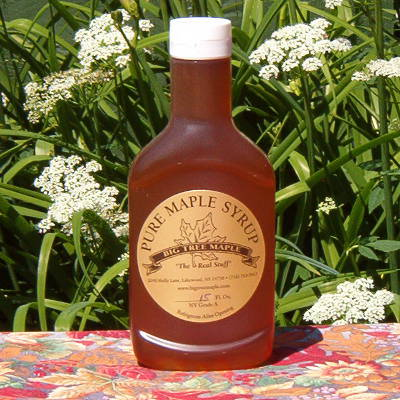 Real Maple Syrup In A Squeeze Bottle