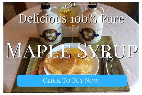 Delicious 100% Pure Maple Syrup - Click to buy Now